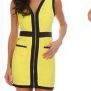 Yellow Mini Dress NWT